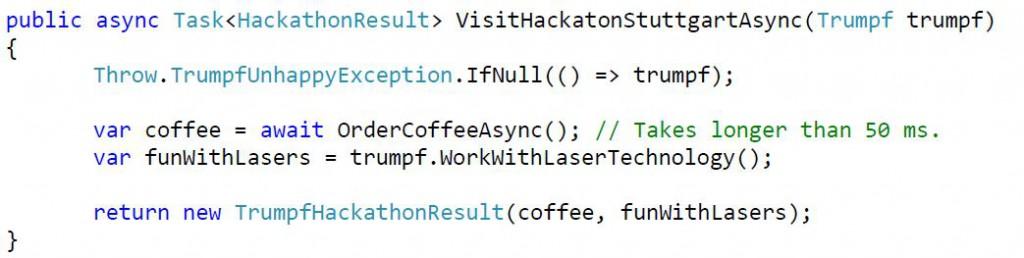 trumpf code hackstgt17