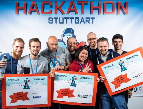 These are the winners of Hackathon Stuttgart 2018